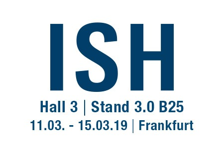 Meet us on ISH 2019 Fair